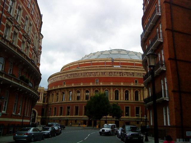 Royal Albert Hall from Kensington Gore