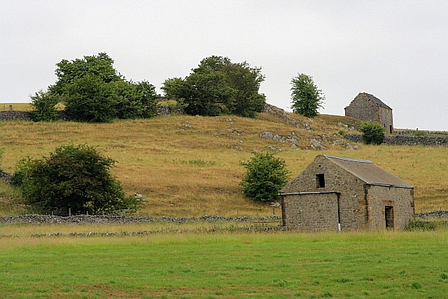 Barns above Hartington Dale