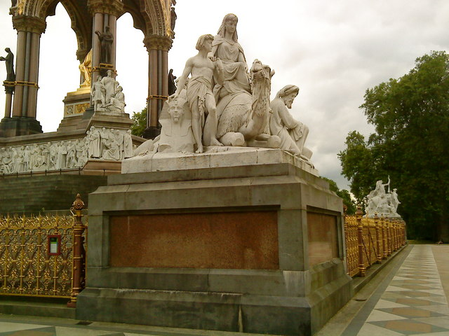 Africa corner of the Albert Memorial