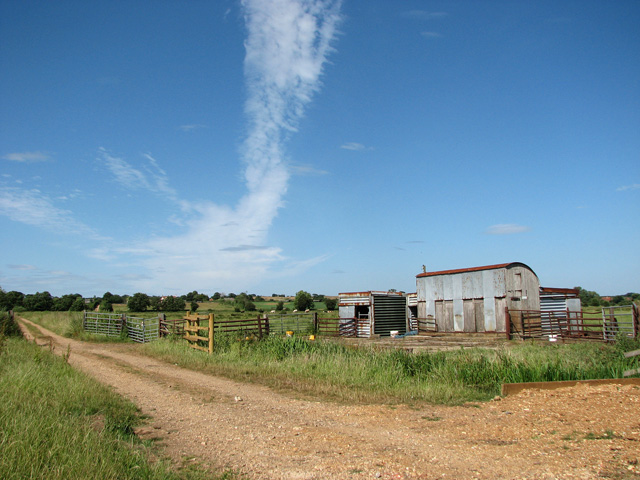 Track to College Farm