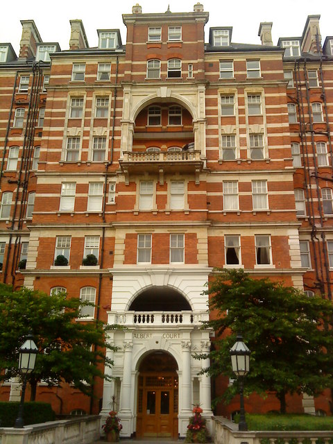 Albert Court, Kensington Gore