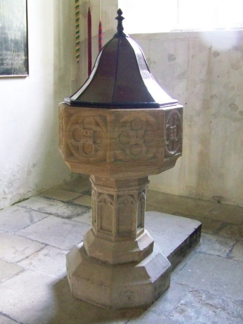 Font, St Andrew's Church