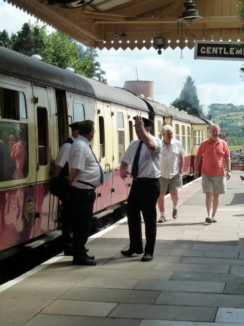 Toddington Station - a gaggle of guards