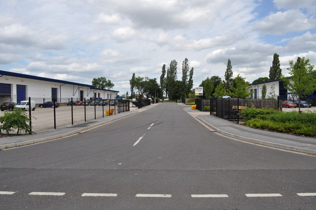 Looking at Industrial Units on former RAF Finningley