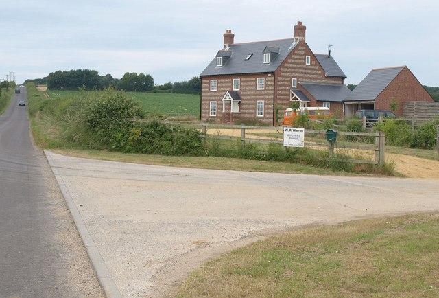 New farmhouse near Pimperne