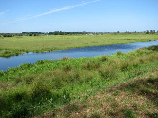 Drainage ditch north of the River Waveney