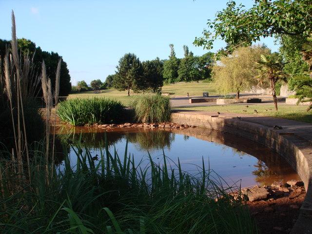Pond, Hollicombe Gardens, Paignton