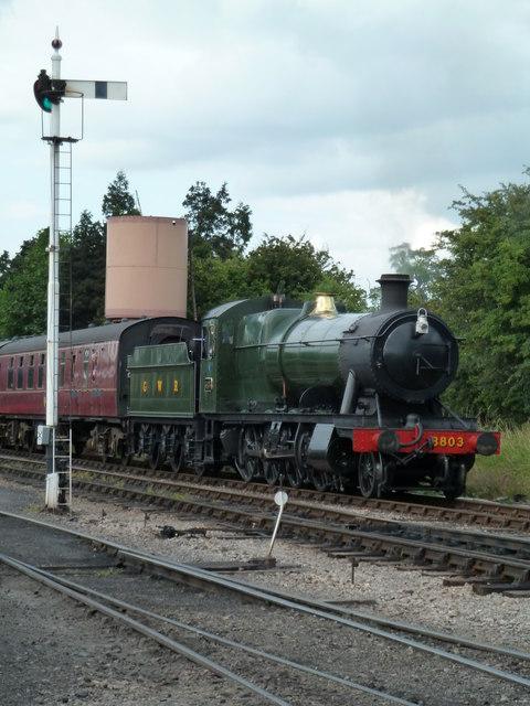 Toddington departure