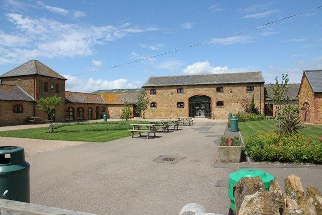Centre of the farmyard