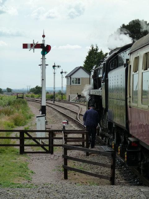 Gotherington Station - no road