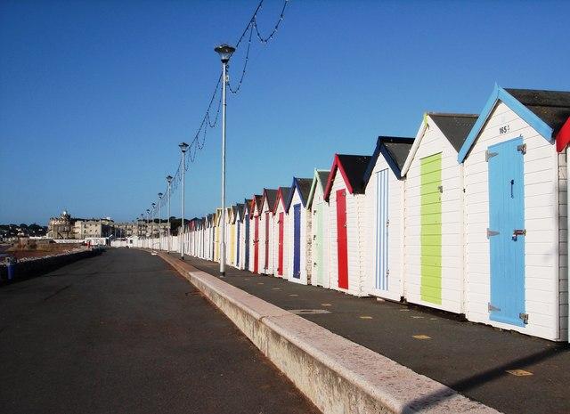 Beach huts, north end of Paignton promenade