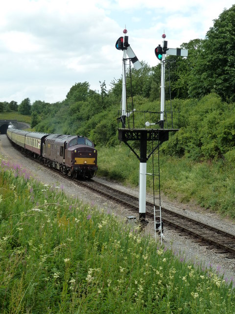 The Gloucestershire-Warwickshire Railway at Greet