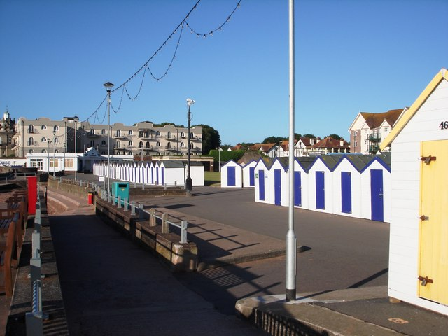 Beach Huts near Paignton Green