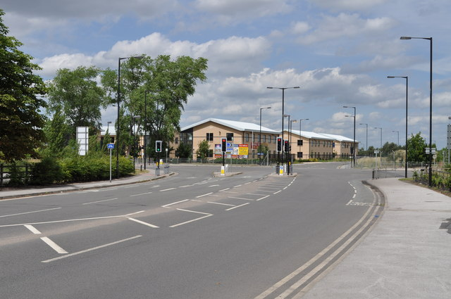 Junction of First Avenue, former RAF Finningley