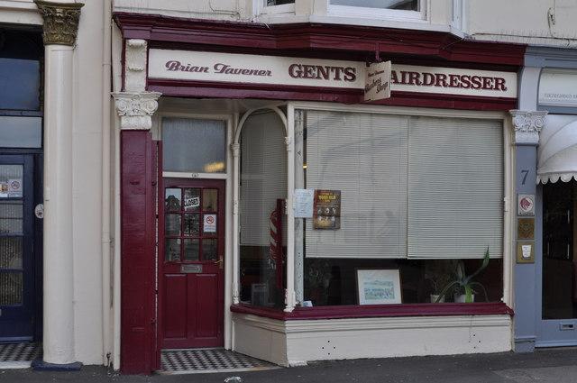 Gent's hairdresser, Scarborough