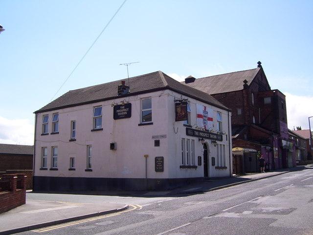 The Prospect Tavern at Hoyland