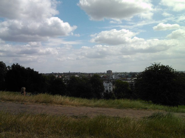 A view of the more immediate local area from Primrose Hill