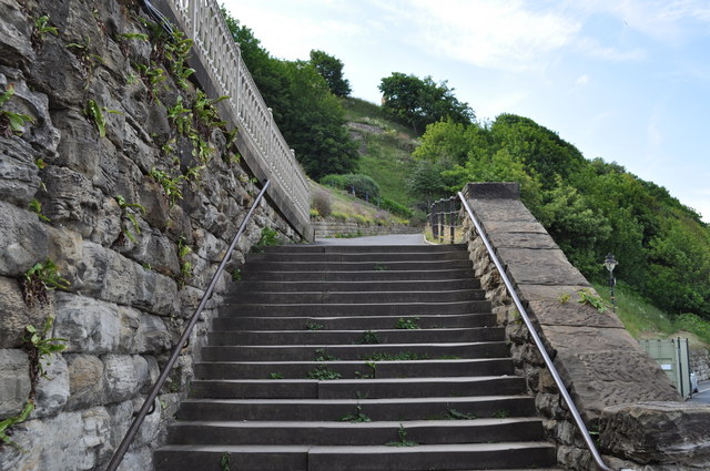 Steps at Scarborough