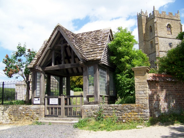 Lych gate, The Church of St Mary and St James