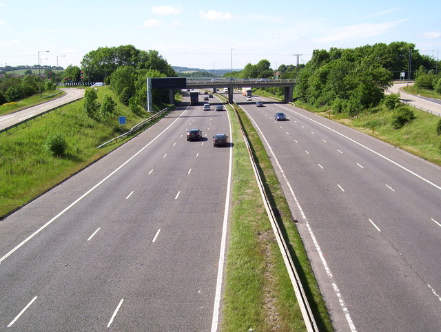 Junction 36 on the M1