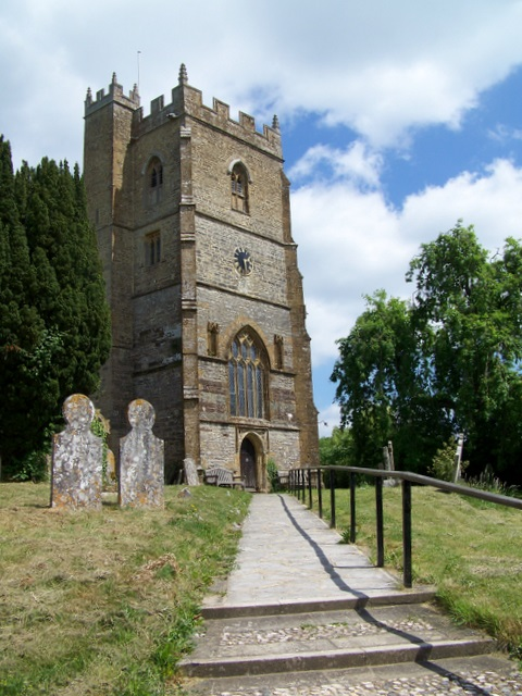 Tower, The Church of St Mary and St James