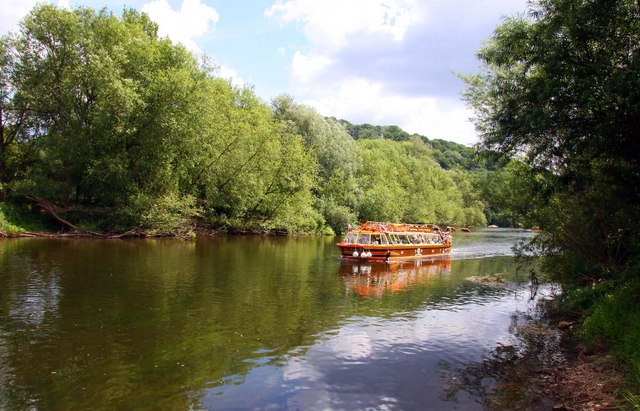 Boat on the River Wye