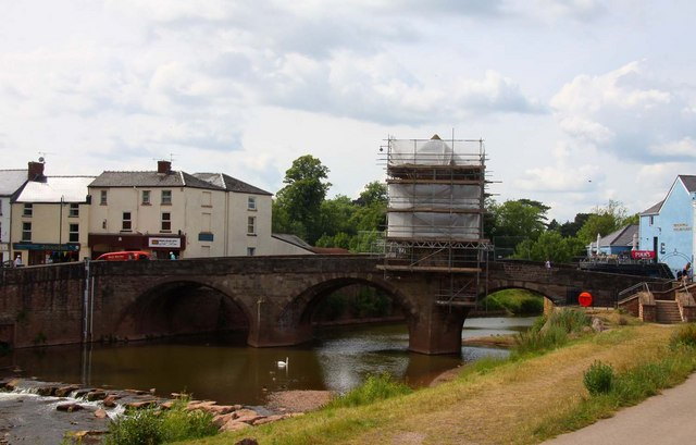 The Monnow Bridge