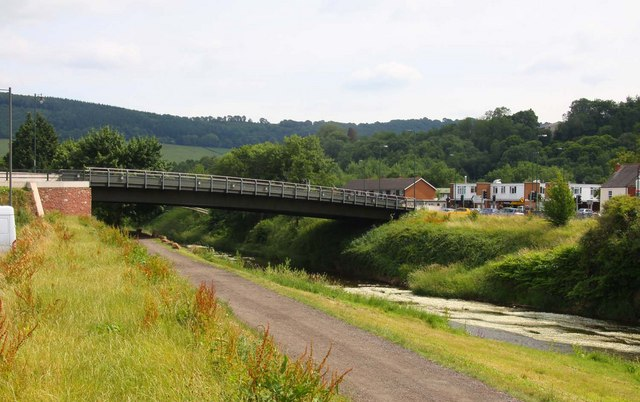 A bridge over the River Monnow