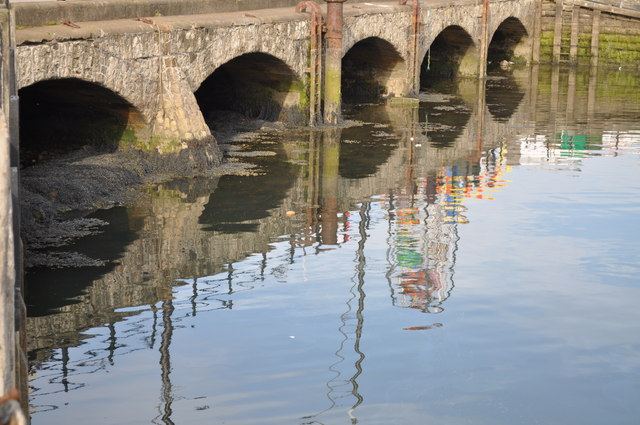 Bridge at Scarborough harbour