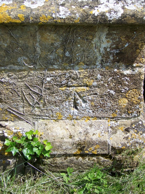 Bench Mark, The Church of St Mary and St James