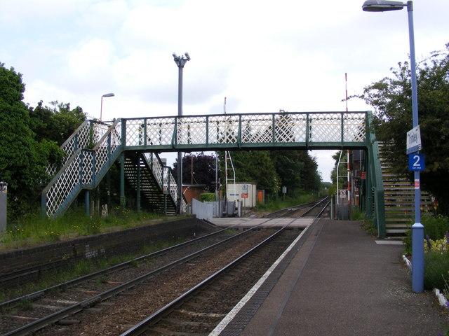 Trimley Station footbridge