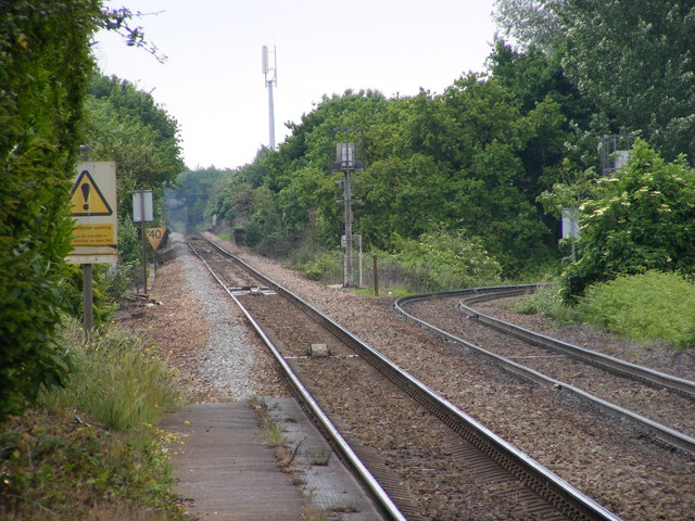 East of Trimley Station