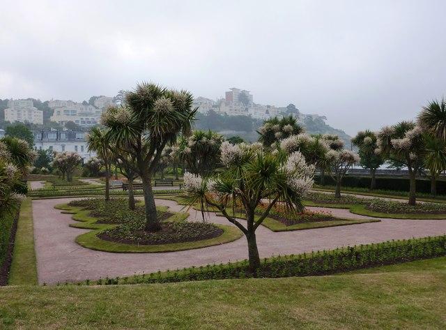 Gardens near Torre Abbey, Torquay