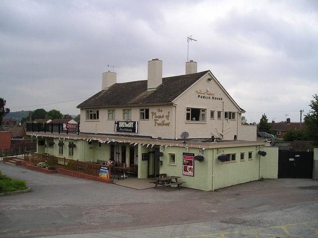 The Plume of Feathers Pub, Barlaston