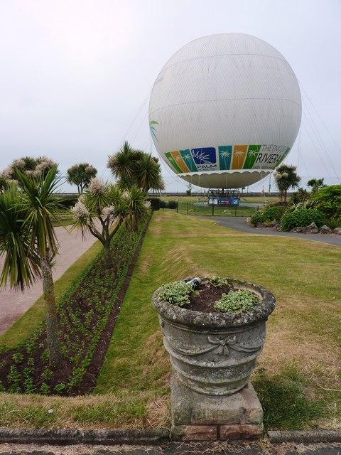 "Captive balloon, The ""English Riviera"", Torquay"