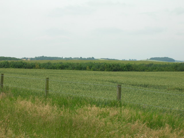 Farmland near Cotgrave Country Park