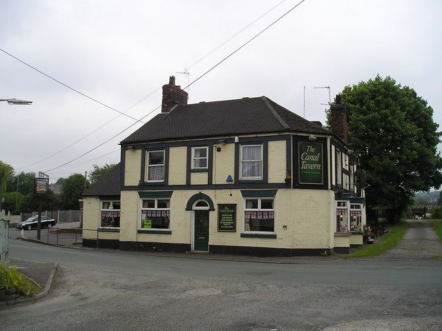 The Canal Tavern Pub, Kidsgrove, Stoke on Trent