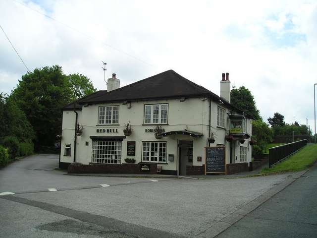 The Red Bull Hotel Pub, Church Lawton, Stoke on Trent