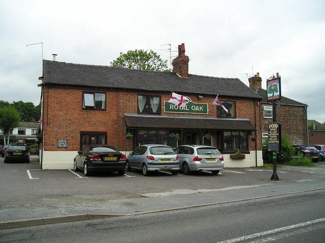The Royal Oak Pub, Rode Heath, Stoke on Trent