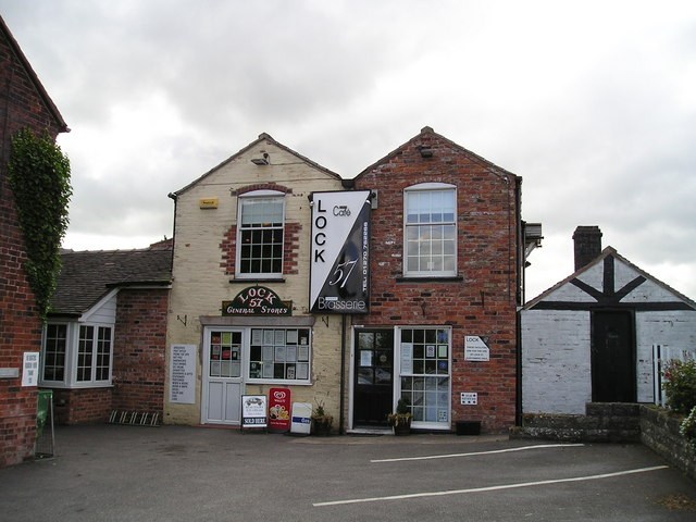 The Lock 57 Cafe, Hassall Green, Sandbach
