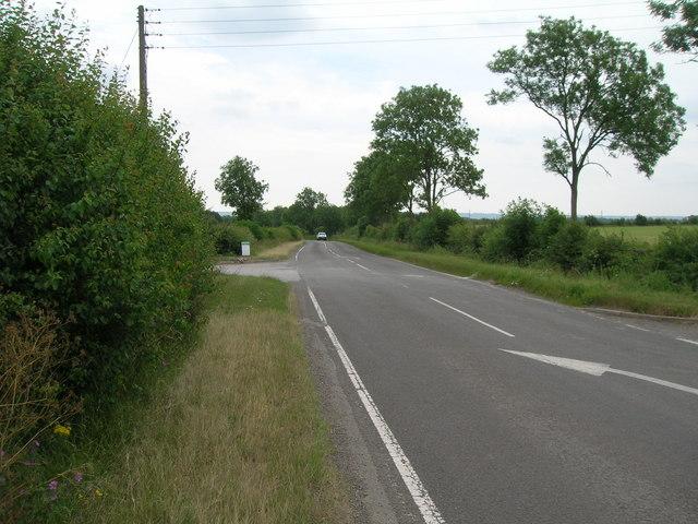 Nottingham Road towards Cropwell Bishop