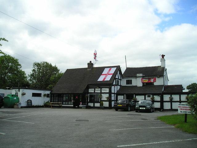 The Romping Donkey Pub, Hassall Green, Sandbach