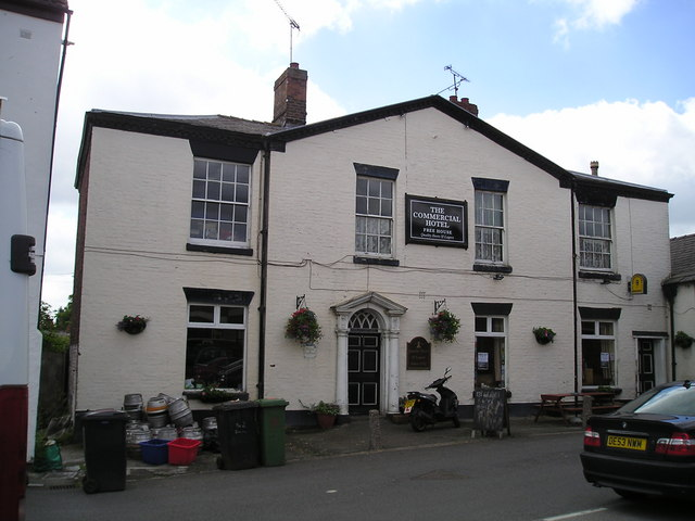 The Commercial Hotel Pub, Wheelock, Sandbach
