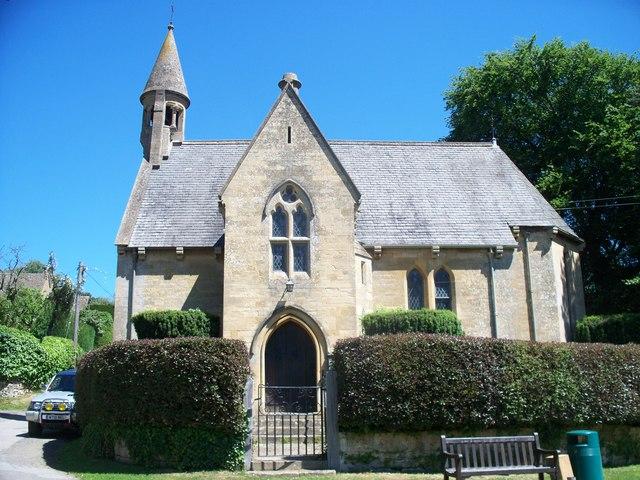 Broad Campden church