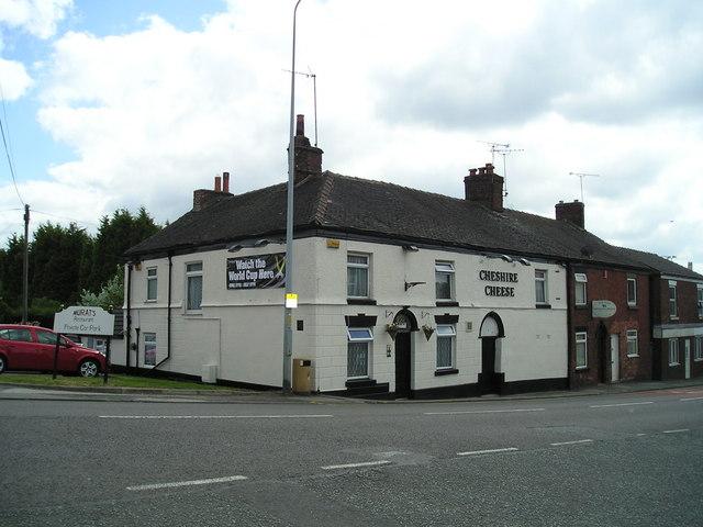 The Cheshire Cheese Pub, Wheelock, Sandbach