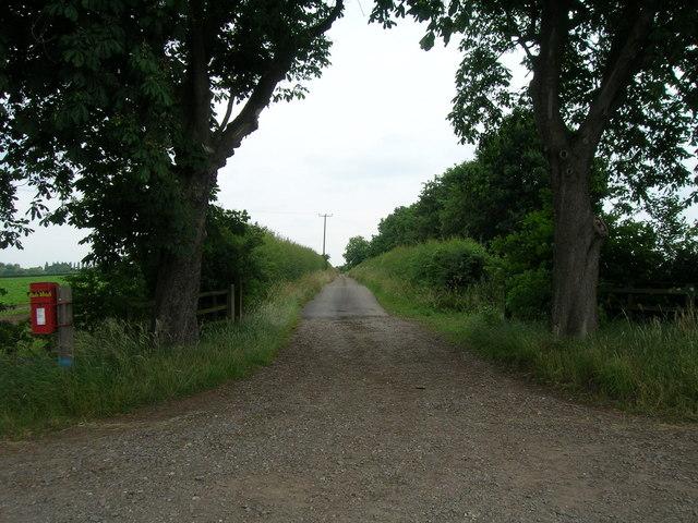 Track to Fields Farm