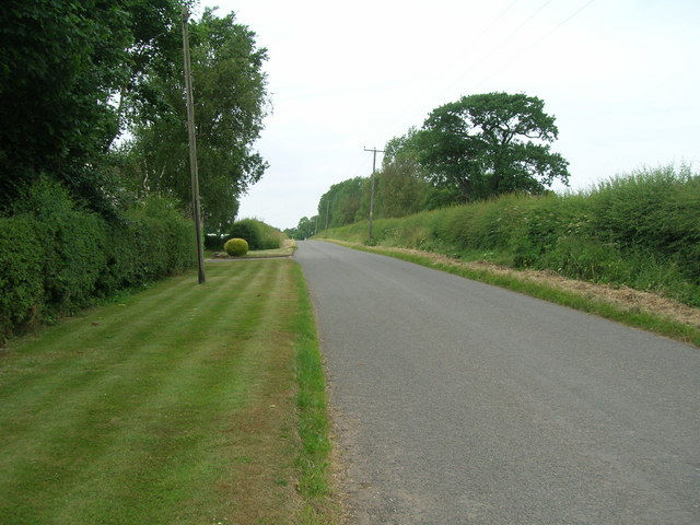 Cropwell Road towards Radcliffe on Trent