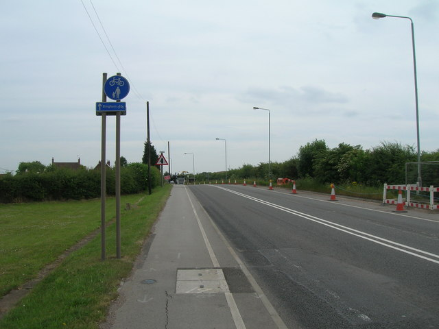 A52 towards Grantham