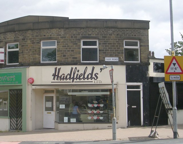Hadfields' Bakers - Park Road