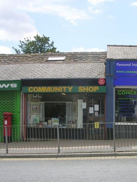 Community Shop - Blackmoorfoot Road